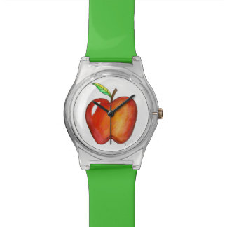 Montre de fruit de pommes d'Apple red delicious
