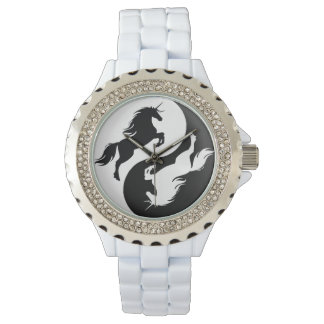 Montre de licorne de Yin Yang Montres Bracelet