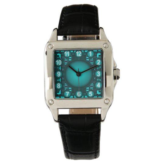 Montre de pointe de conception de réacteur montres bracelet