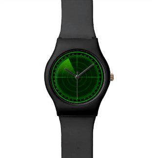 Montre de radar de recherche montres cadran