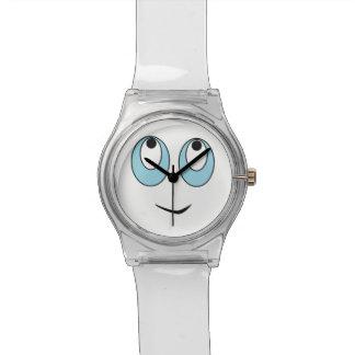 Montre de sourire adorable d'enfants de conception montres bracelet