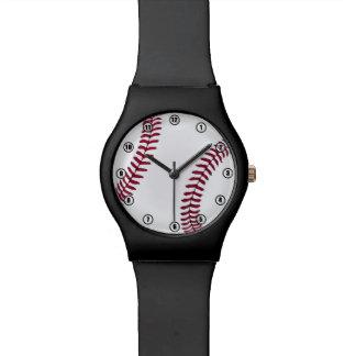 Montre de temps de base-ball montres bracelet