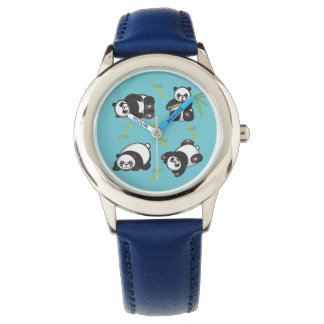 Montre de temps d'étude d'enfants de panda de