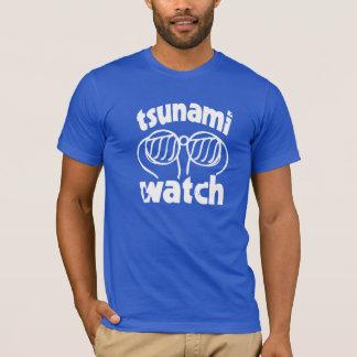 montre de tsunami t-shirt