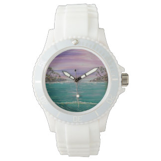 montre de vague de plage