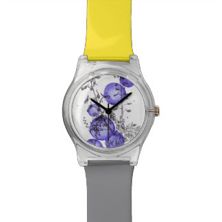 Montre d'illustration de delphinium