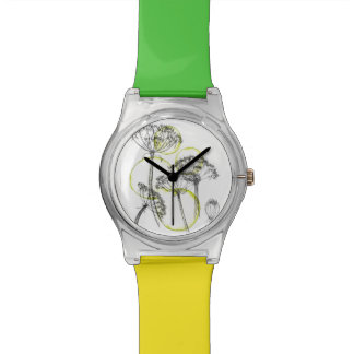 Montre d'illustration de persil de vache