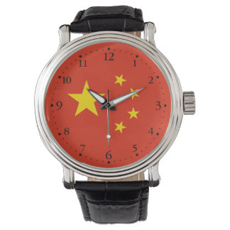 Montre Drapeau chinois patriotique