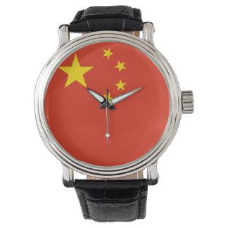 Montre Drapeau de la Chine