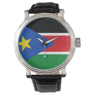 Montre Drapeau du sud du Soudan