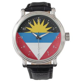 Montre Drapeau patriotique d'Antigua-et-Barbuda