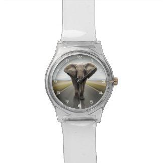 Montre du camionneur May28th d'éléphant Montres Cadran