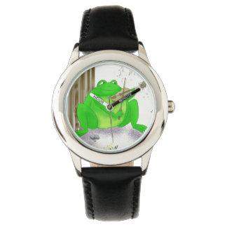 Montre enfant grenouille