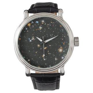 Montre Étoiles dans l'espace - champ ultra profond de