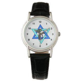 Montre Étoiles juives de chat