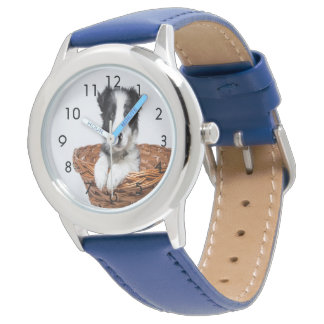 Montre faite sur commande d'animal familier de
