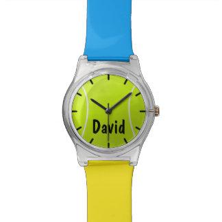 Montre faite sur commande de couleur et de balle montres
