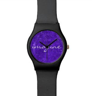 Montre faite sur commande ultra-violette de visage
