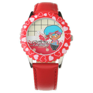 Montre fille MyTinyBeauty CherryLin Brown