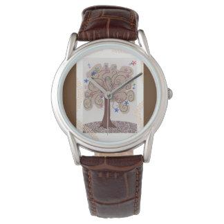Montre homme arbre et arabesques montres