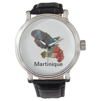 Montre Homme avec carte Martinique