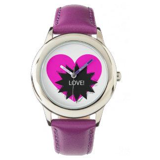 Montre Horloge pour enfant Love !