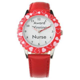 Montre Infirmière de gain de récompense