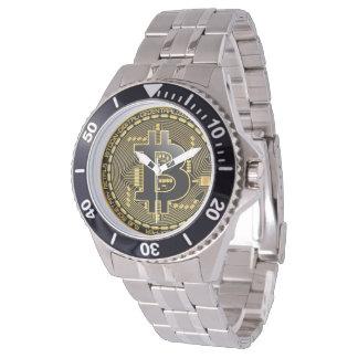 Montre inoxydable de Bitcoin