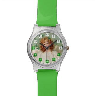 Montre irlandaise vintage d'ange montres bracelet