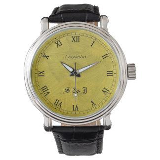 Montre Je promets la montre-bracelet balayée de