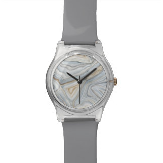 Montre Le gris a marbré la conception abstraite