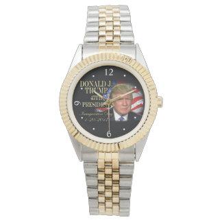 Montre Le Président Inauguration Keepsake de Donald Trump