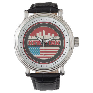 Montre L'horizon | Etats-Unis de New York diminuent