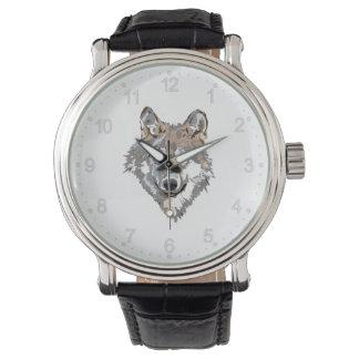Montre Loup principal - illustration de loup - loup