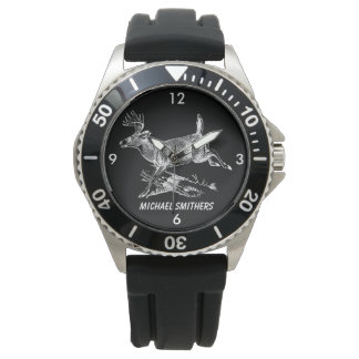 Montre Mâle de Whitetail avec le grand support