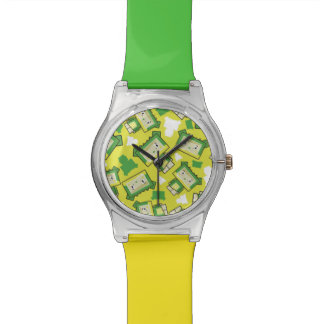 Montre mignonne de crocodile de Blockimals de