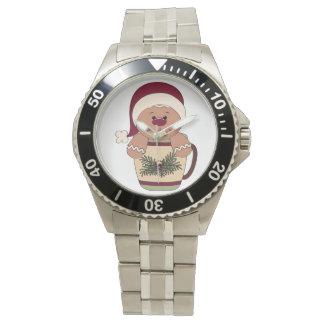 Montre mignonne des vacances des femmes montres bracelet