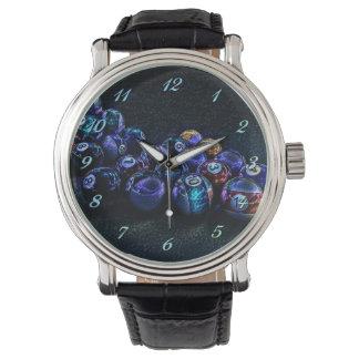 Montre Montre-bracelet de billards d'étincelle de galaxie
