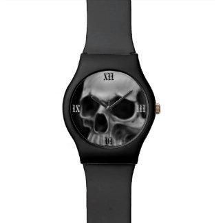 Montre Montre-bracelet de crâne de Goth