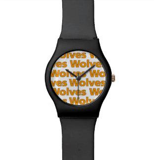 Montre Montre-bracelet de loups