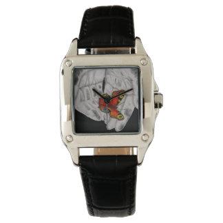 Montre Montre-bracelet papillon noir