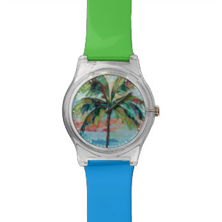 Montre Palmier tropical de |