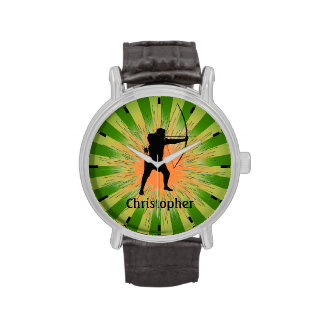 Montre personnalisable de conception de tir à montres bracelet