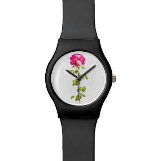 Montre Photo de rose de rose