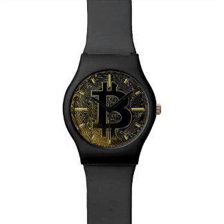 Montre Pièces de monnaie de Bitcoin