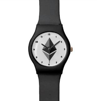 Montre Pièces de monnaie d'Ethereum