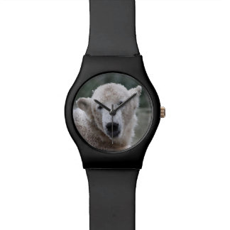 Montre Poly animaux - ours blanc
