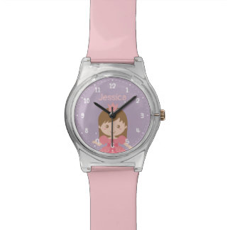 Montre Princesse mignonne et douce Girl Personalized