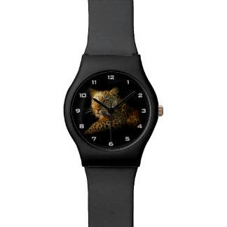 Montre sauvage du léopard May28th Montres Cadran