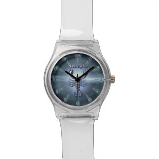Montre Scorpion de chrome